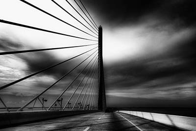 Sunshine Skyway Bridge Print by Sridip Nag