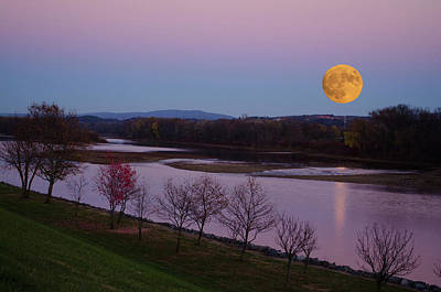 Full Moon Photograph - Super Moon by Crystal Wightman