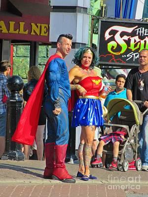 Superheros Original by Crystal Loppie