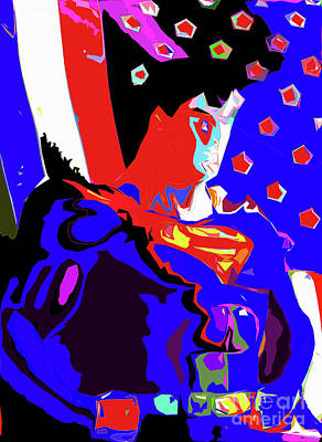 Iconography Mixed Media - Superman 33 by Konnor McCloud