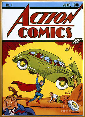 Superman Comic Book, 1938 Print by Granger