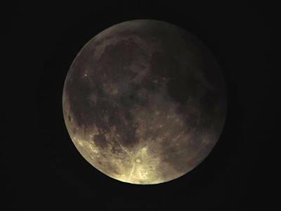 Luna Photograph - Supermoon Blood Moon 001 by Lance Vaughn