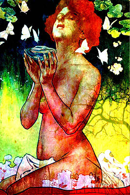 Chalice Mixed Media - Supplication by Tammera Malicki-Wong