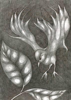 Supposedly Bird  Print by Wojtek Kowalski