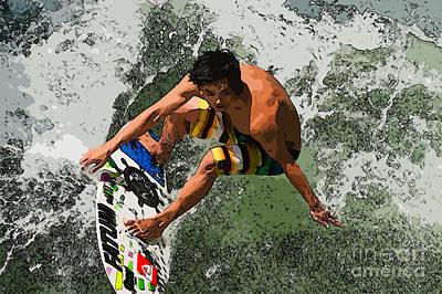 Landscape Photograph - Surf by Andrew Michael