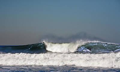 Ocean Beach Surf Print by Daniel Furon