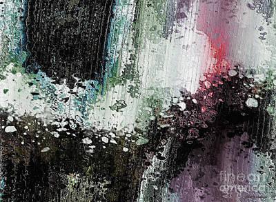 Beautiful Digital Art - Surface Disturbance  by Sandra Gallegos