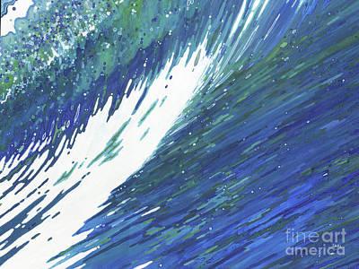Juul Painting - Surfer's Dream Wave by Margaret Juul