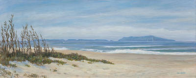 Sand Dunes Painting - Surfer's Knoll  by Tina Obrien