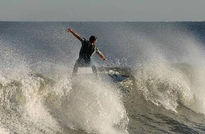 Surfing 122 Print by Joyce StJames