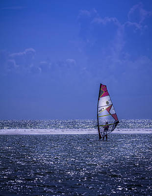 Wind Photograph - Surfing The Wind by Marvin Spates