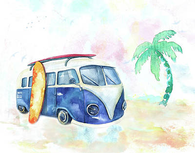 Surfin' Usa Original by Colleen Taylor