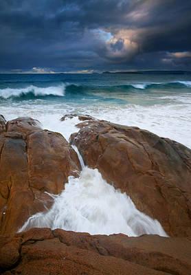 Fleurieu Peninsula Photograph - Surfs Up by Mike  Dawson