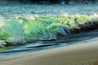 Surging Water Print by Kelley King
