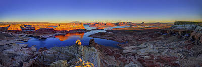 Navajo Photograph - Surreal Alstrom by Chad Dutson