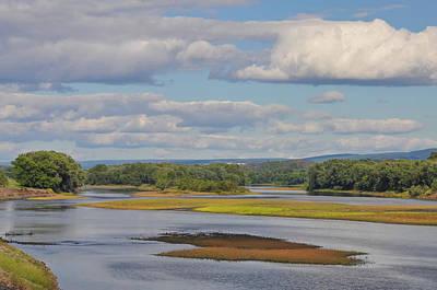 Susquahanna River Near Wilkes Barre Pa Print by Bill Cannon