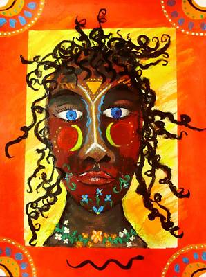 Goddess Painting - Sutalidihi by Shelley Bain