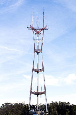 Photograph - Sutro Tower by Gravityx9 Designs