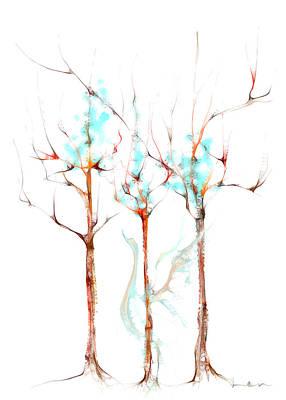 Hangout Digital Art - Swan Of Haritsadee by Len YewHeng