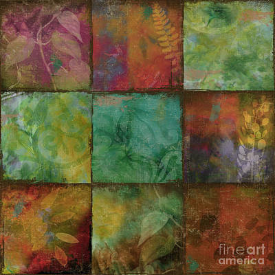 Blooming Painting - Swatchbox I by Mindy Sommers
