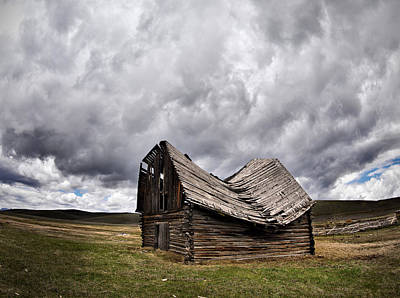 Barn Wood Photograph - Sway Back by Leland D Howard
