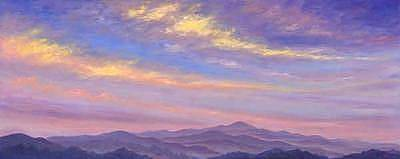 Asheville Painting - Sweeping Clouds by Jeff Pittman