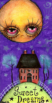 Sweet Dreams Print by  Abril Andrade Griffith