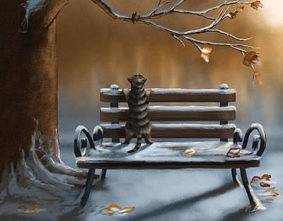 Digital Painting - Sweet Friendship by Veronica Minozzi