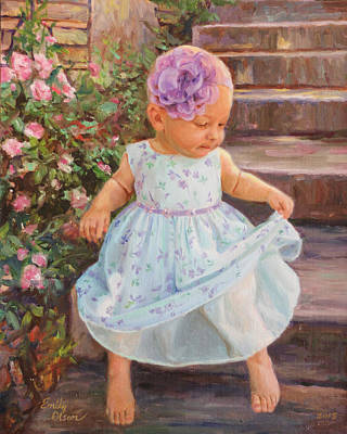 Innocence Painting - Sweet Innocence by Emily Olson