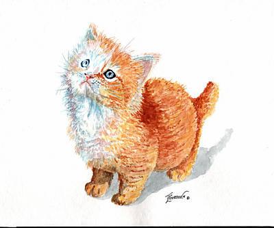 Sweet Kitty Original by Timithy L Gordon