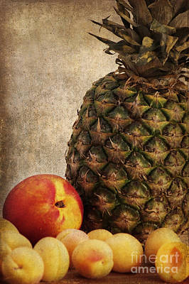 Pineapple Mixed Media - Sweet Things by Angela Doelling AD DESIGN Photo and PhotoArt