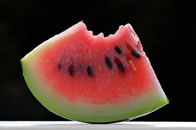 Sweet Watermelon Print by Lori Deiter