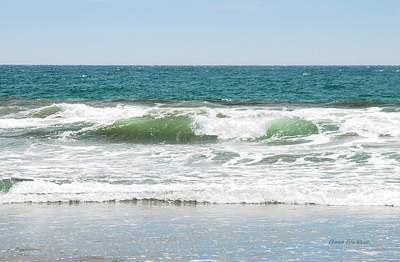 Incoming Tide Photograph - Swell by Donna Blackhall