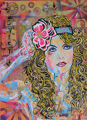 Taylor-swift Painting - Swift by Heather Wilkerson