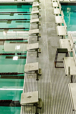 Cities Photograph - Swim Meet by Erich Grant