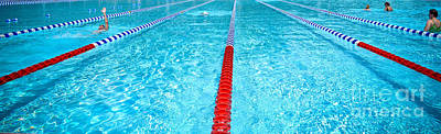 Community Photograph - Swimming Pool Lap Lanes by Amy Cicconi
