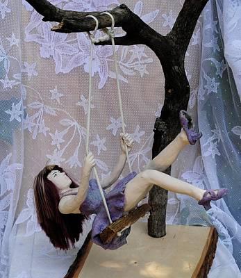 Swing Girl Original by Andy Serrano