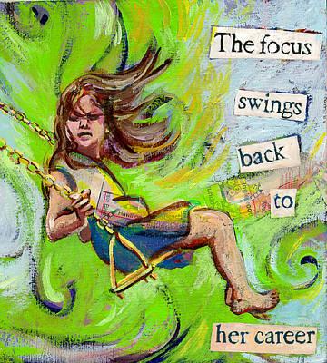 Swing Print by Tilly Strauss