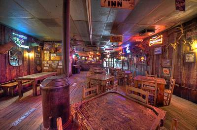 Swinging Doors At The Dixie Chicken Print by David Morefield