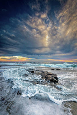 Colorful Cloud Formations Photograph - Swirl by Peter Tellone