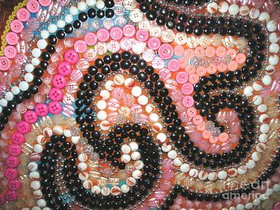 Ceramic Mixed Media - Swirly Whirly by Nancy M Arcieri