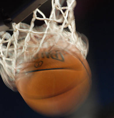 Basketball Photograph - Swish by Shane Kelly