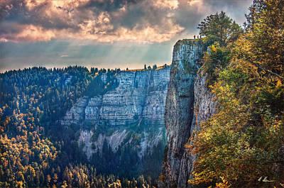 Swiss Grand Canyon Print by Hanny Heim