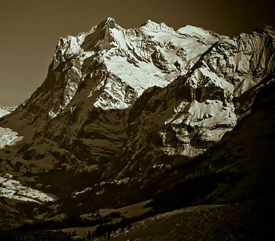 Photograph - Swiss Mountainscape by Frank Tschakert