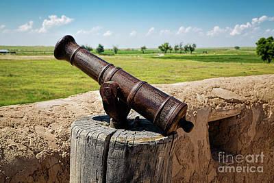 Swivel Gun Print by Jon Burch Photography