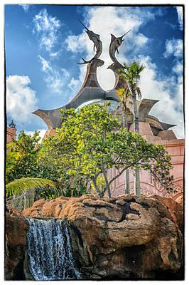 Swordfish Design - Atlantis Resort - Nassau Bahamas Print by Jon Berghoff