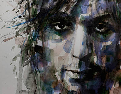 Composer Painting - Syd Barrett by Paul Lovering