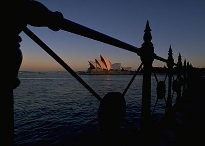 Print featuring the photograph Sydney Opera House by Travel Pics