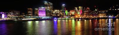 Sydney Skyline Photograph - Sydney Skyline By Kaye Menner by Kaye Menner