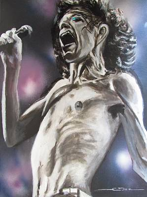Rolling Stones Drawing - Sympathy Symphony by Eric Dee